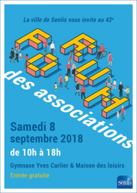 VILLE DE SENLIS - FORUM DES ASSOCIATIONS -2018 –